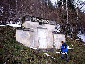HB Mitterberg: Feststellung der Wasserverluste