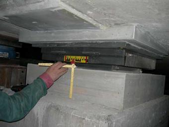 Vorbereitungder Kragplatte mit Dübelleisten für den Randbalken