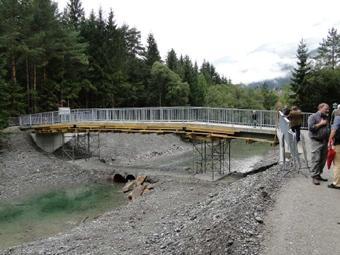 Pirknerbachbrücke im Bauzustand