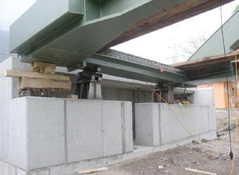 Stahlkonstruktion Endquerträger und Kämpfer