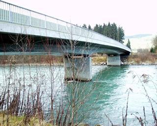 Draubrücke Schüttbach Brückenhauptprüfung ( L= 97 m) -3-feldrige Straßenbrücke der Klasse Imit beschränkter Vorspannung