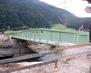Prüfstatik für die Möllbrückein Obervellach (L= 35 m)