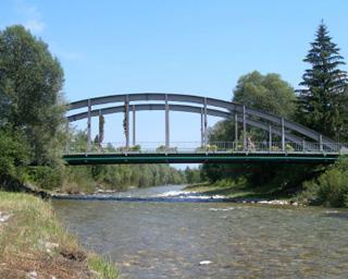 Statische Überprüfung, Feststellung der Gebrauchstauglichkeit und Vorstellung eines Generalsanierungskonzeptes der Bogenbrücke über die Möll bei Möllbrücke (L= 50 m)