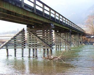 Sanierung der Draubrücke Radlach(L= 70 m)