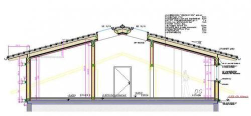 Holzriegelkonstruktion