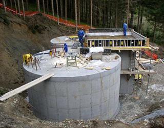 Neubau des Hochbehälters Baldramsdorf - Detailprojekt und Statisch konstruktive Bearbeitung