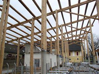 Neubau Stallgebäude Litzlhof - Statisch konstrukt. Bearbeitung für Stahl- und Holzbau